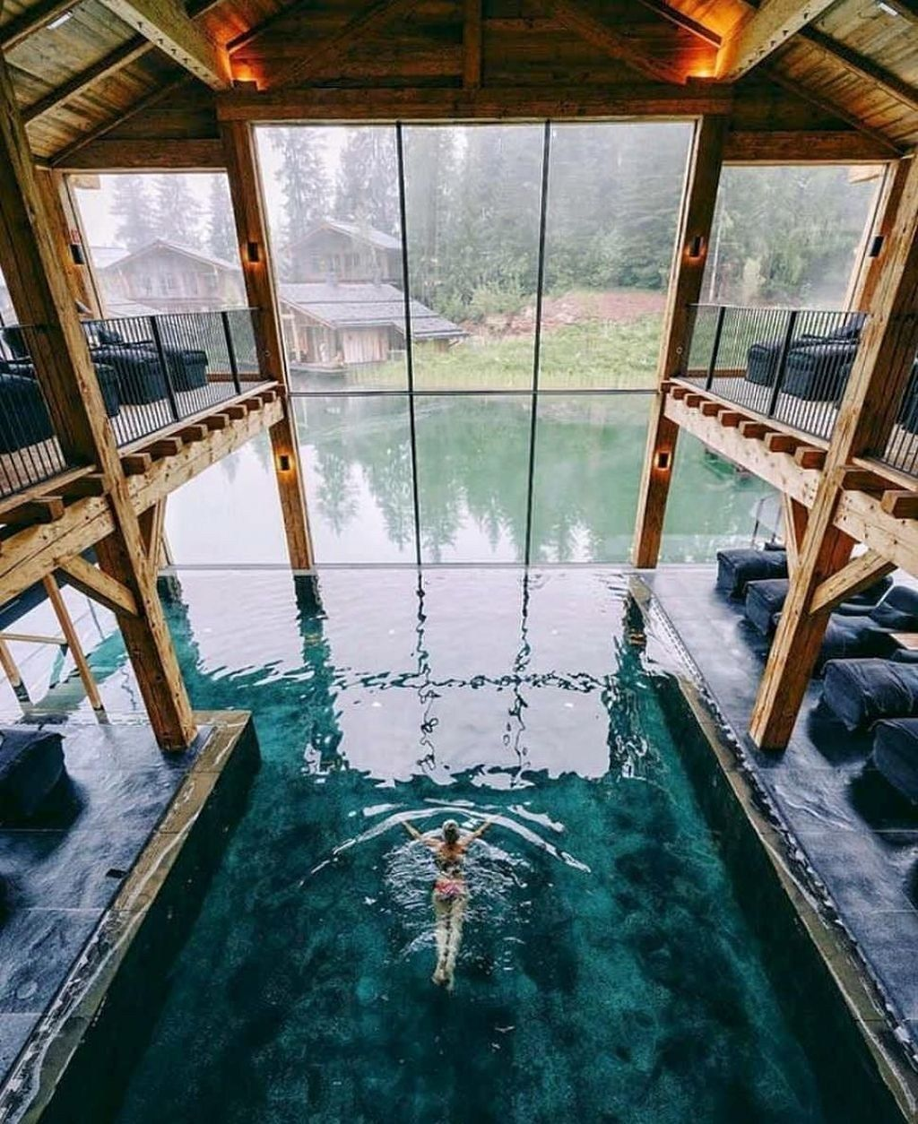 30+ Fancy Indoor Swimming Pool Designs That Everyone