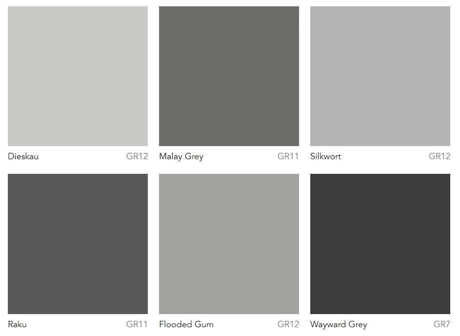 Dulux Most Popular Grey Paint Colours Warm Greys Grey Paint Colors Popular Grey Paint Colors Light Grey Paint Colors