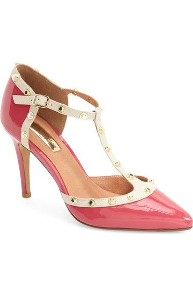 e8ae833447d Halogen®  Martine  Studded T-Strap Pump (Women) available at  Nordstrom