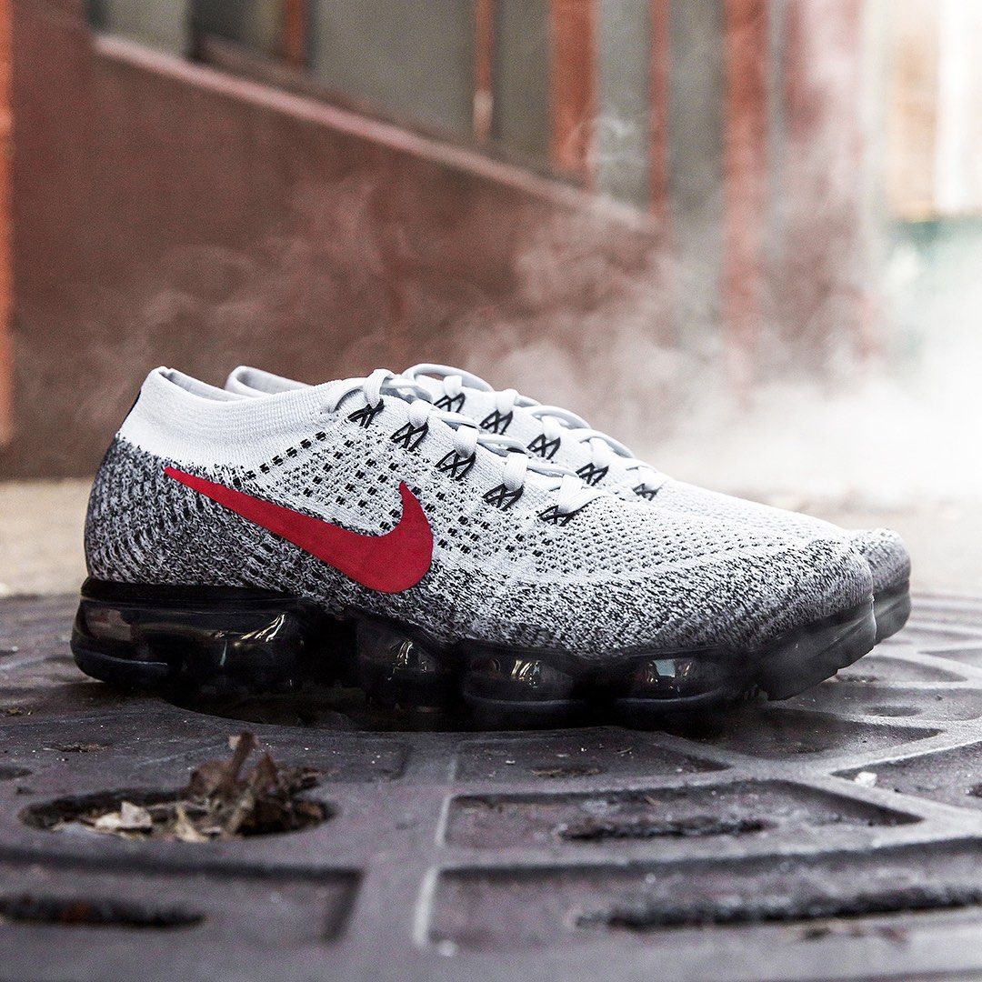 Nike Air Vapormax 1 OG Pure Platinum University Red | Nike