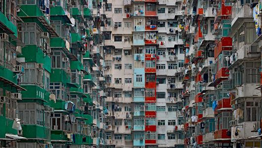 In 'Architecture of Density,' photographer Michael Wolf captures stunning urban vistas of one of the most populated cities on Earth.
