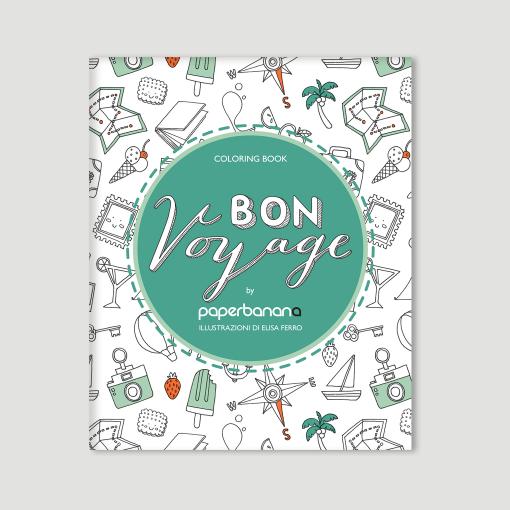 Coloring Book Bon Voyage
