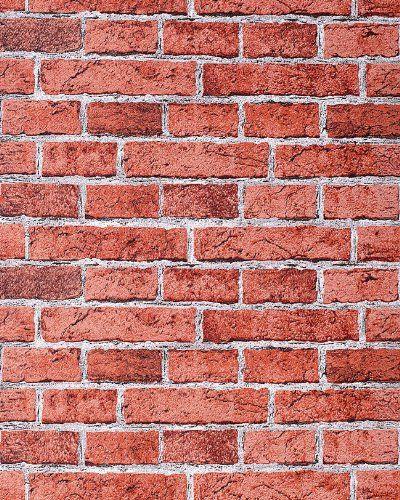 Rustic Brick Wallpaper Wall Edem 58324 Decorative Vintage Mural Stone Brix Look Vinyl Red Earth Red You Brick Wallpaper Brick Wallpaper Iphone Brick Decor