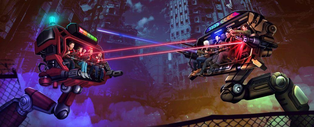 Holovis Gaming Robots Lasers Aae Singapore