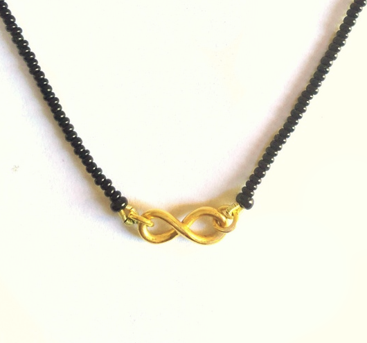 INFINITY Jewelry patterns Pinterest Modern mangalsutra designs