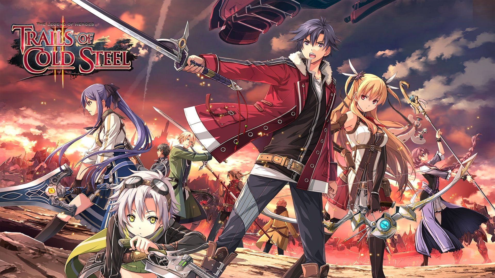 Trails Of Cold Steel Ii Is Out For Ps3 And Ps Vita In Europe Keengamer Trails Of Cold Steel The Legend Of Heroes Hero Wallpaper