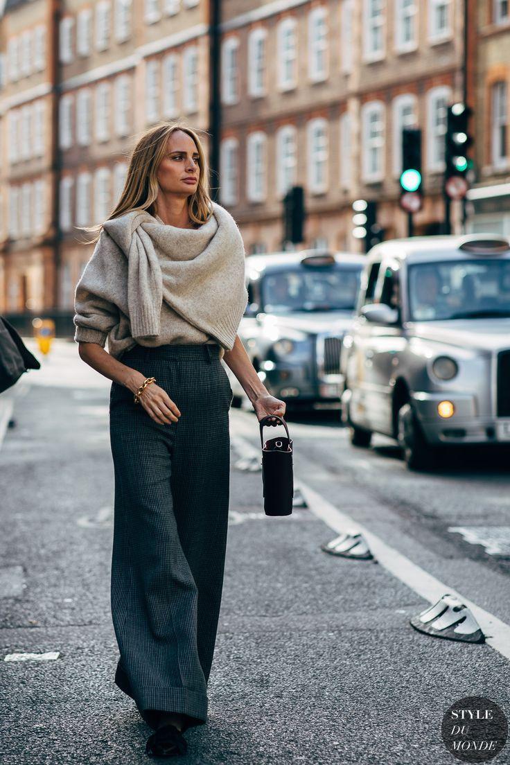 London SS 2019 Street Style: Lauren Santo Domingo #trendystreetstyle