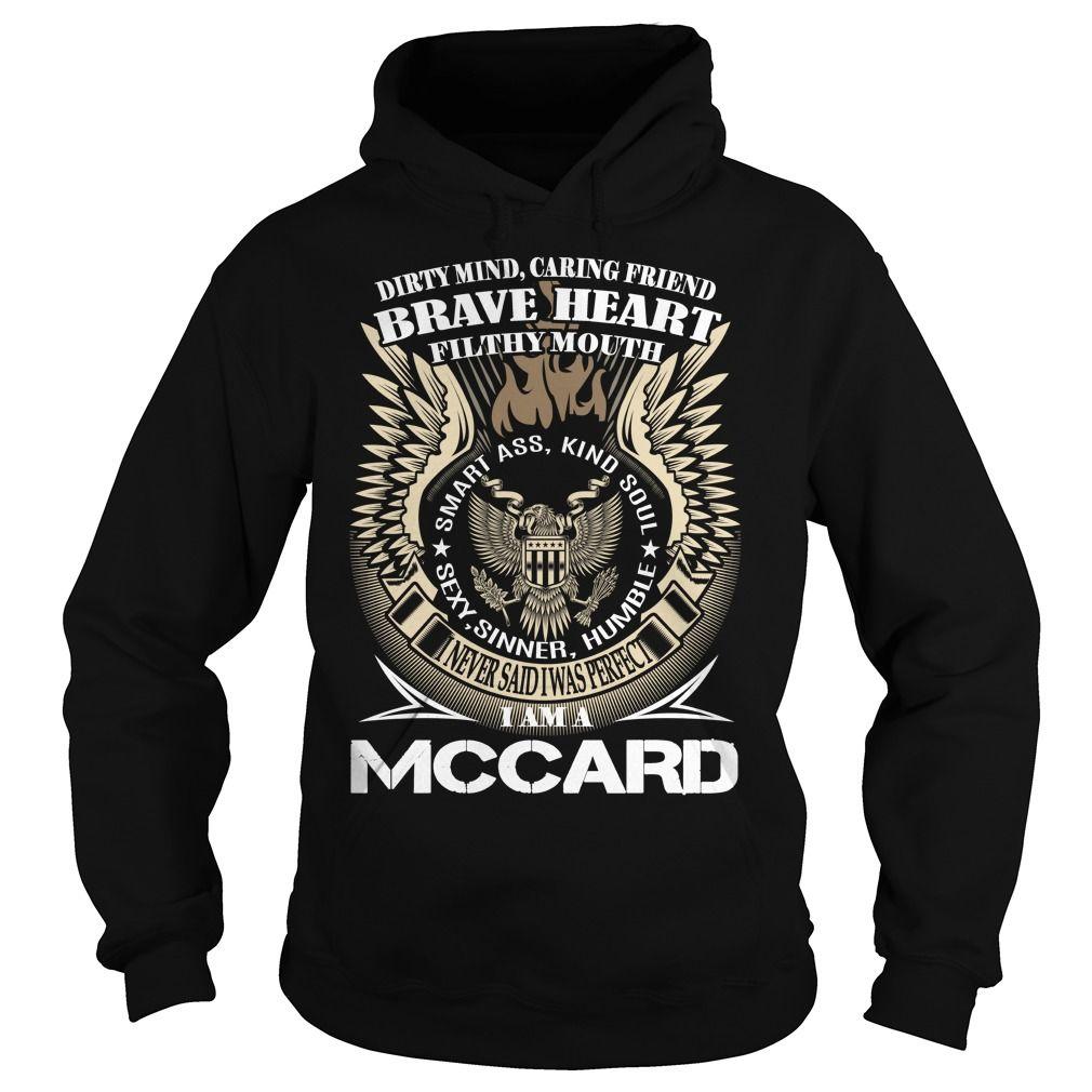 MCCARD Last Name, Surname TShirt v1