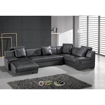 Houston Left Leather Sectional Media Room Black Sectional Leather Sectional Black Leather Sofas