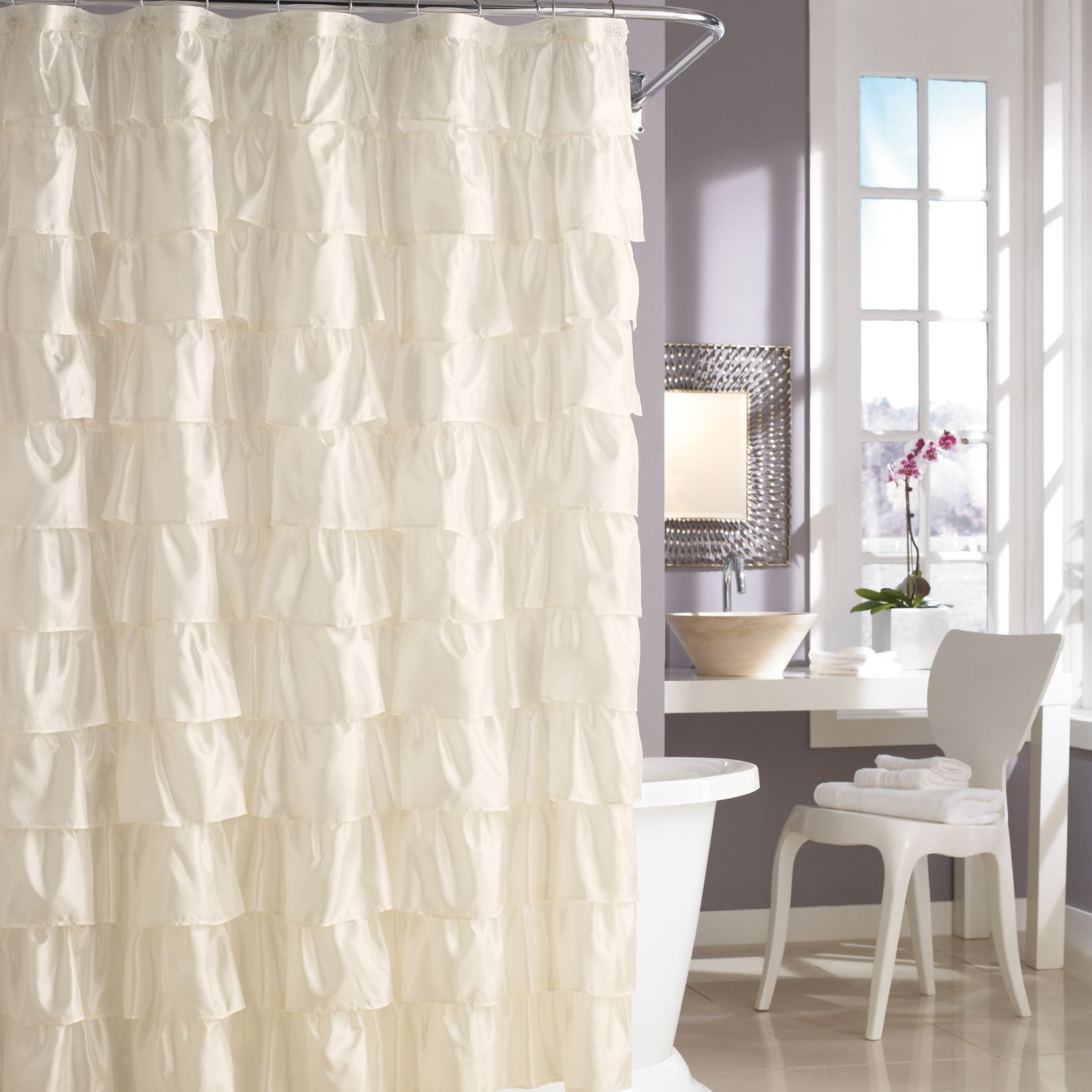 Steve Madden shower curtain?! $29.99