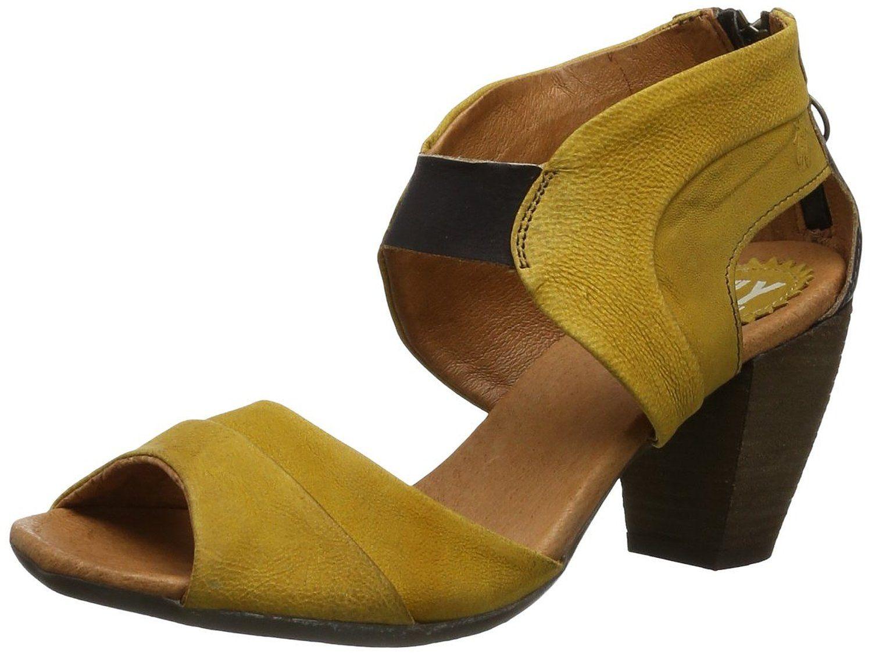 Fly London ERV - Zuecos de cuero mujer  Amazon.es  Zapatos y complementos 92f6cd3a9d0