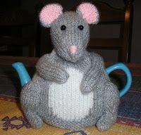 Justjen-knits  steken: Kleine muis Tea Cosy