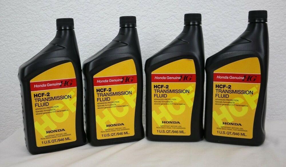 NEW 4-Quarts Honda Genuine HCF-2 Transmission Fluid 08200