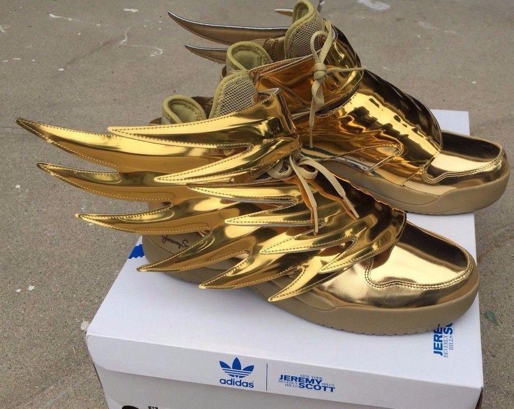 Gold adidas wings cheap >off64% più grande catalogo sconti