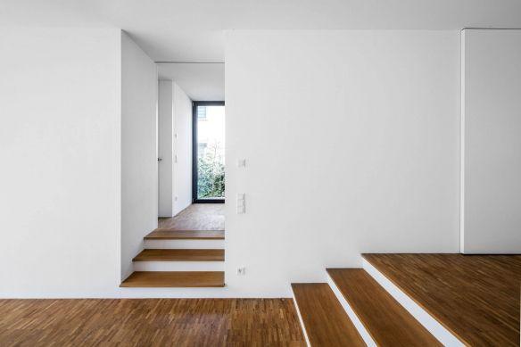 Free Moderne Flur Diele Wohnhaus Kln Wei Corneille Architekten With Flur  Modern