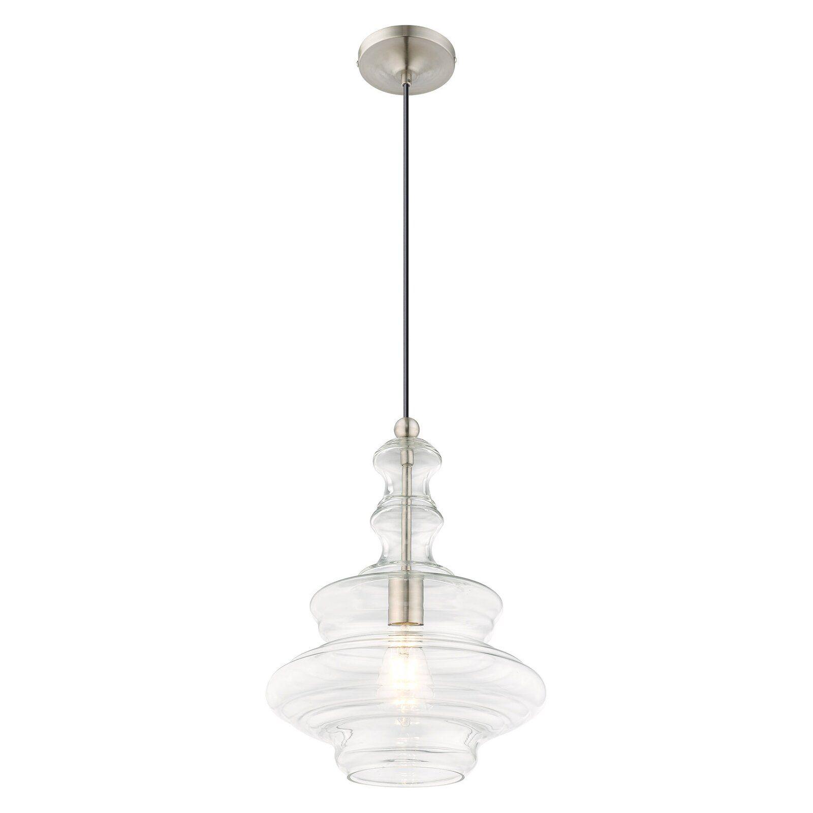 Wrought Studio Fausley 1 Light Novelty Pendant Wayfair Lantern