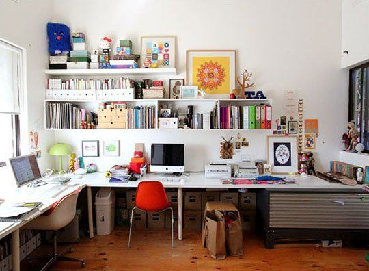 Lovely Creative Home Offices