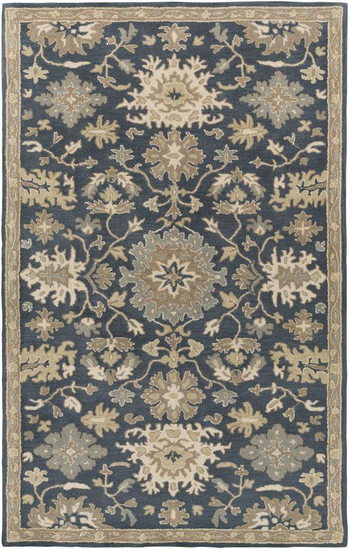 Anchor Your Aesthetic In Effortless Style With This Rug Perfect In The Dining Room Or Den Area Rugs Navy Rug Wool Area Rugs