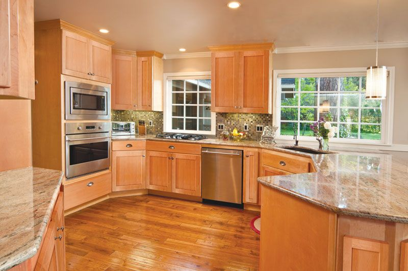 Maple Shaker Kitchen Cabinets finish first cabinetry - products | for the home & organization