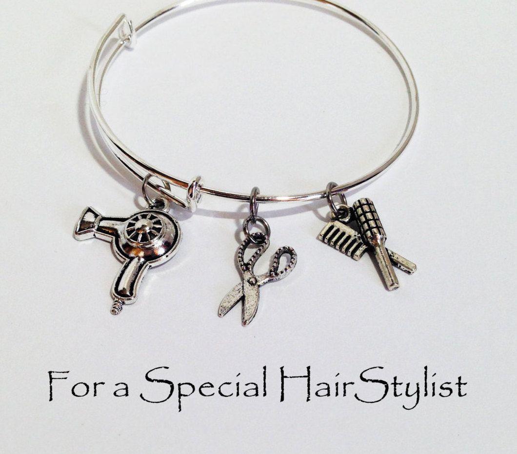 Alex And Ani Inspired Bracelet Hairdresser Gift Hair Stylist