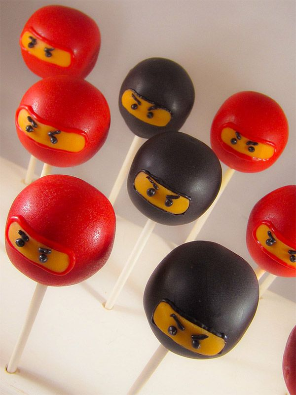 Lego ninjago cake pops max ninjago pinterest ninja geburtstag ninjago geburtstag und - Cake pops 50 geburtstag ...