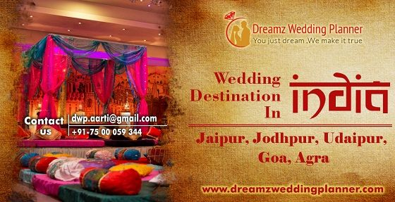 Find out best destination wedding in Udaipur, Jaipur and Jodhpur, India. We provide a solution for destination wedding in India within your budget. Co
