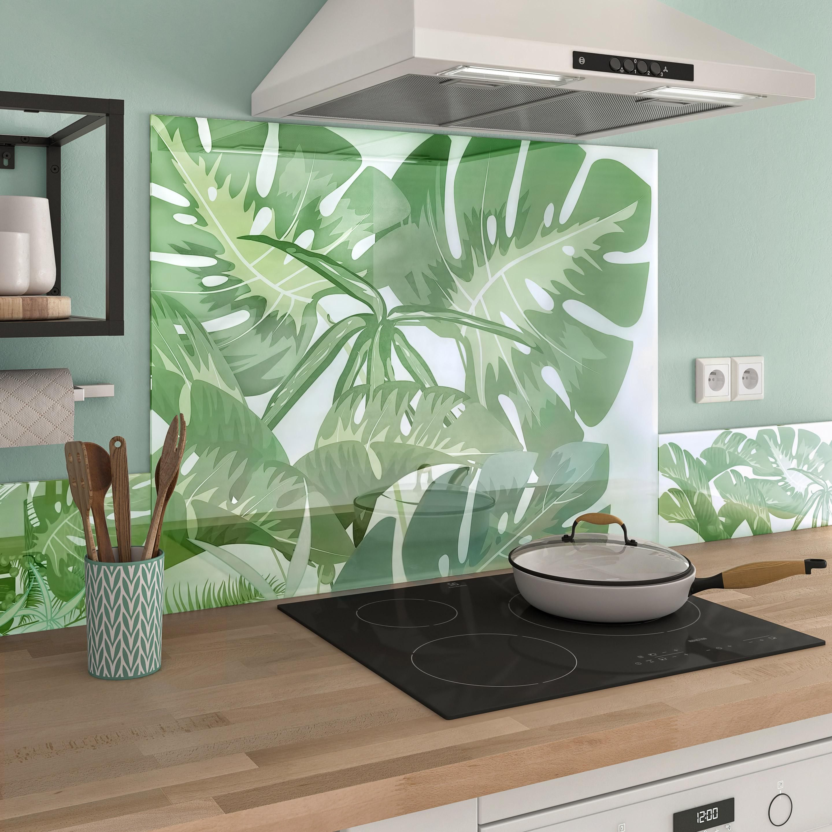 Fond De Hotte Verre Ikea fond de hotte verre gwada h.70 cm x ep.5 mm x l.90 cm | fond