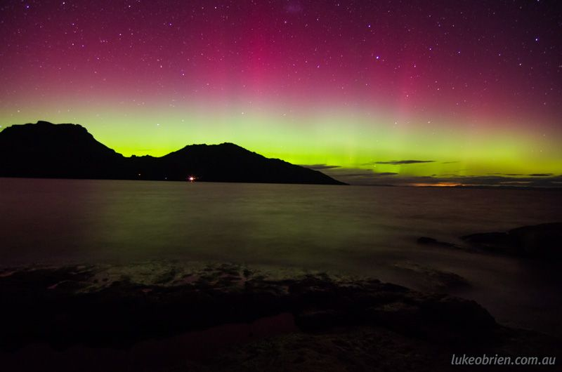 Aurora-Australis-Tasmania-17March2013- Luke O'Brien