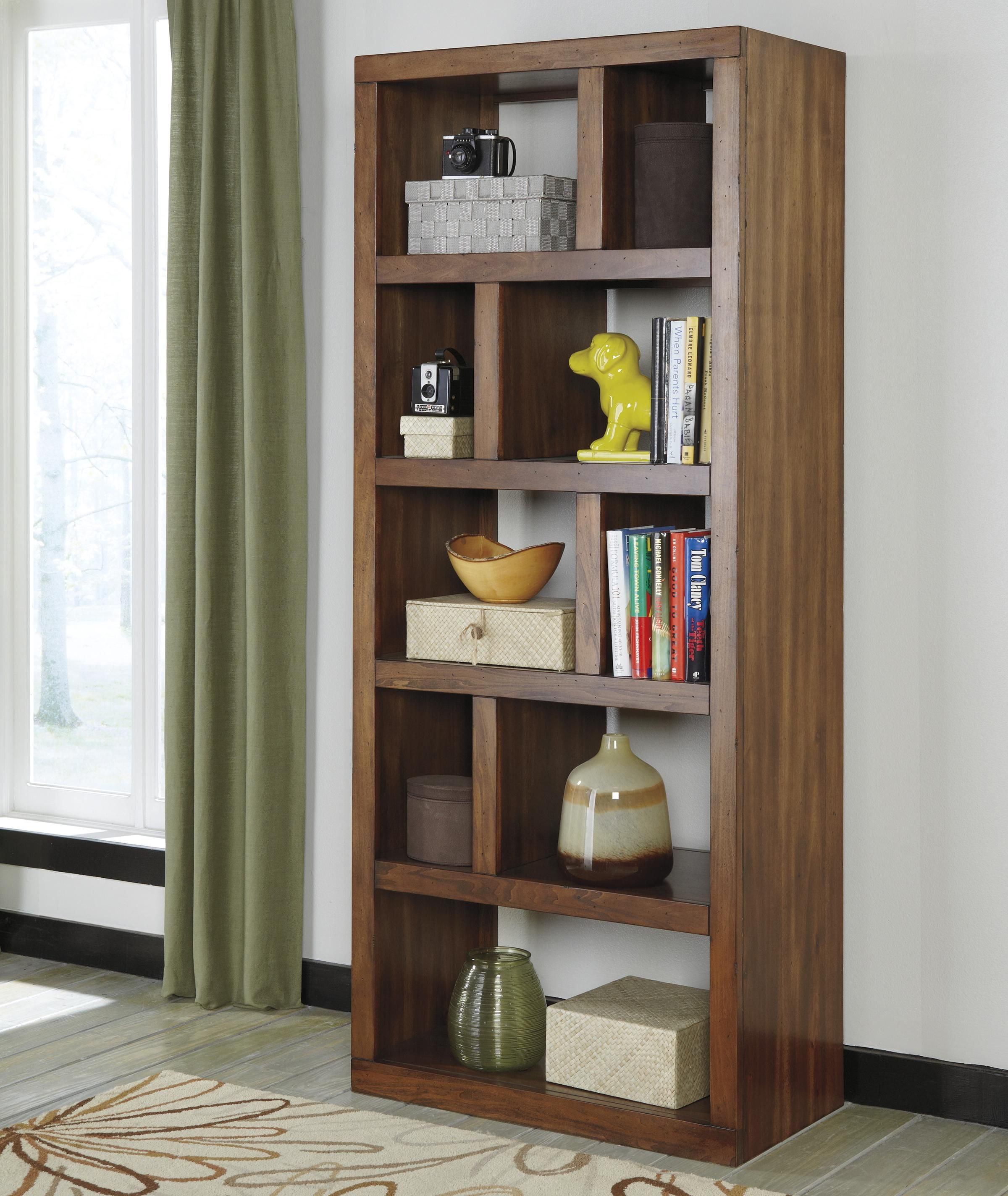 and bookcase wolf furniture products shelf by riverside bookcases open pier