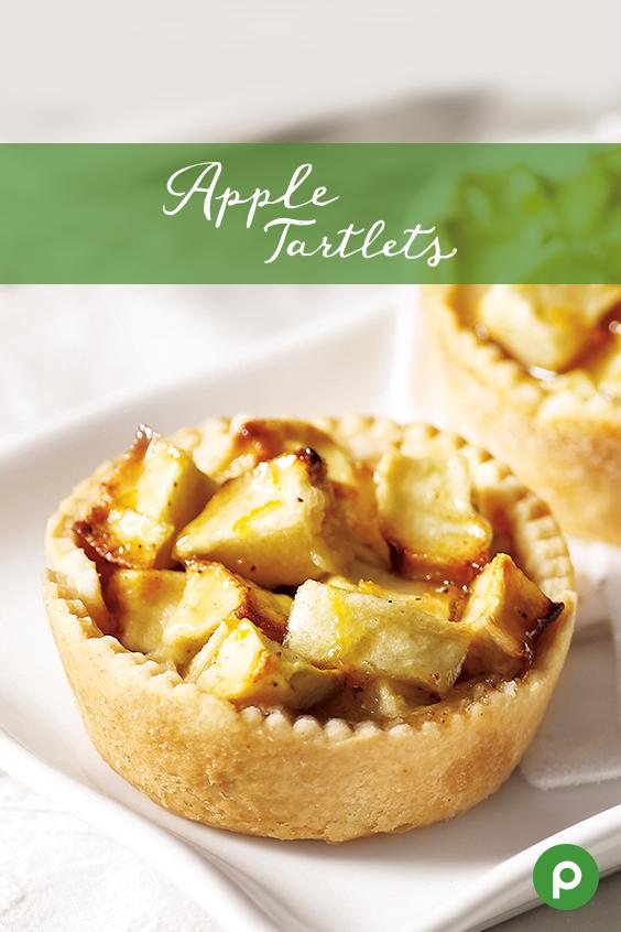 Apple Tartlets Recipe Apple recipes, Publix recipes