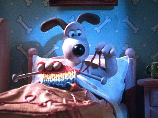Wallace & Gromit | yarn | Pinterest | Animales tejidos, La hermandad ...