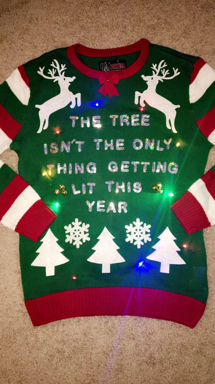 Some Christmas DIY #UglyChristmasSweaterKit