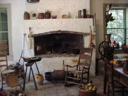 Plantation Kitchen House destrehan plantation kitchen | slavery in the u.s. | pinterest