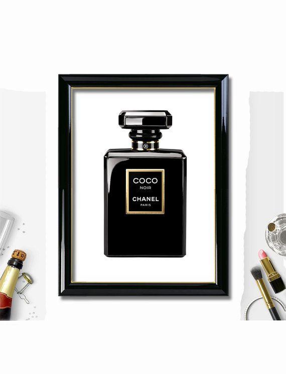 Coco Noir Chanel 16x20 Printable Coco Chanel 11 Black Chanel