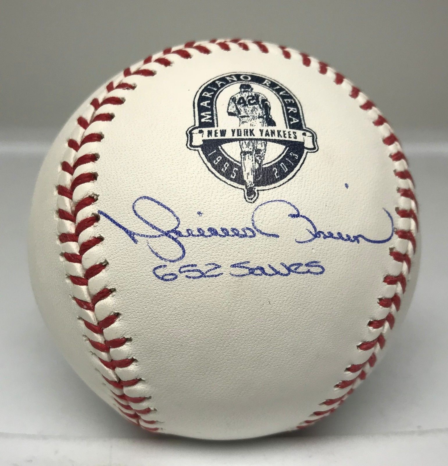 Mariano Rivera 652 Saves Signed Baseball Autograph Steiner Coa Ny Yankees Baseball Autographed Baseballs Yankees Baseball Memorabilia