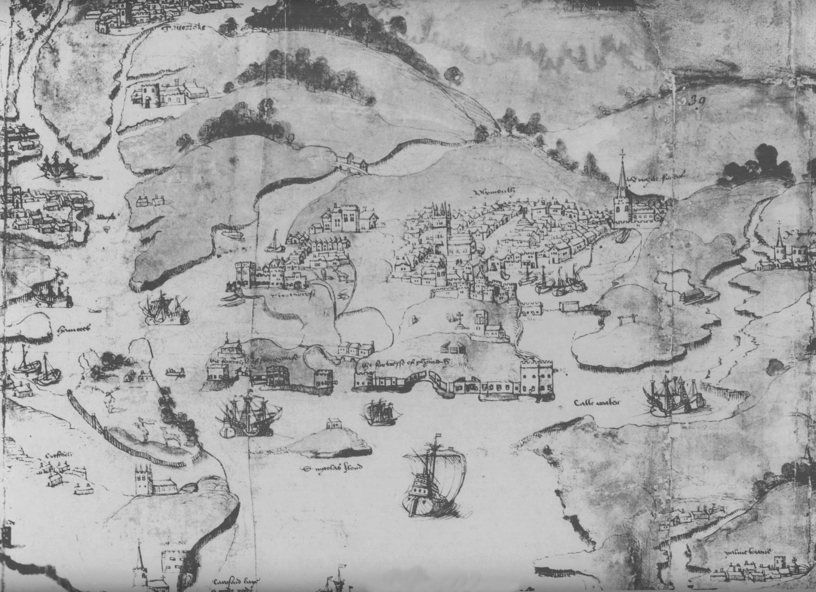 Map Of England Plymouth.Plymouth England Medieval Plymouth Castle Quadrate The Gatehouse