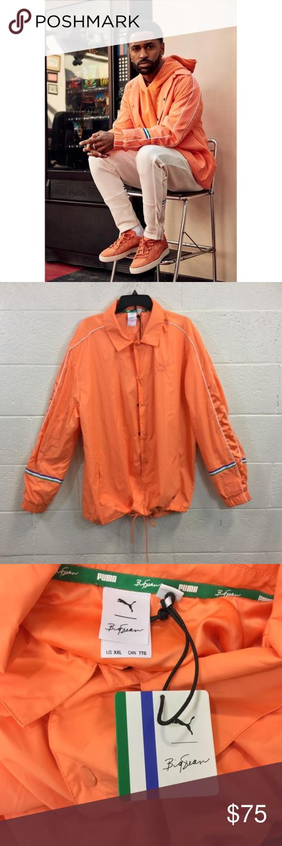 Nwt Big Sean X Puma Jacket Jacket Brands Clothes Design Jackets [ 1740 x 580 Pixel ]