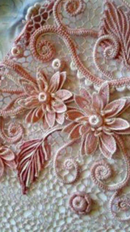 Pin de Martha Guadalupe Lopez en tejido irlandes | Pinterest ...