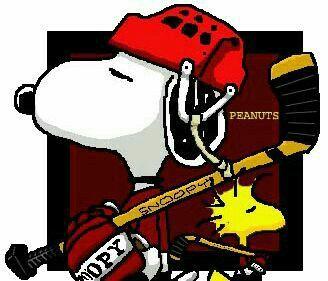 #thepeanuts #pnts #peanuts #schulz #snoopy #woodstock #hockey