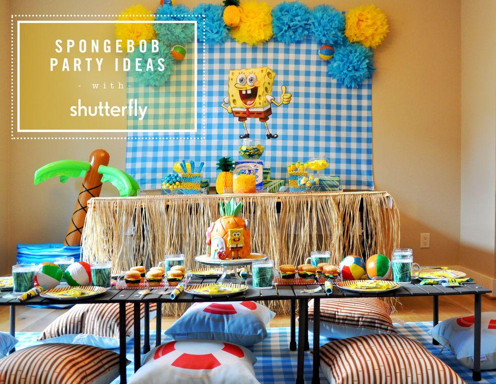 Spongebob! Spongebob Birthday Ideas. The best Spongebob cake and Krabby Patties. For Spongebob  sc 1 st  Pinterest & Spongebob! Spongebob Birthday Ideas. The best Spongebob cake and ...