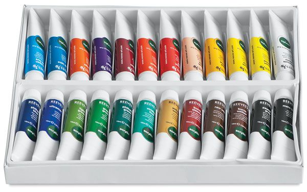 Reeves Acrylic Painting Sets Acrylic Paint Set Water Based