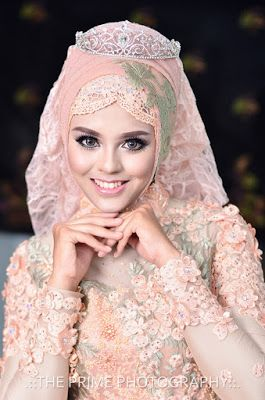 Foto Pengantin Hijab Terbaru