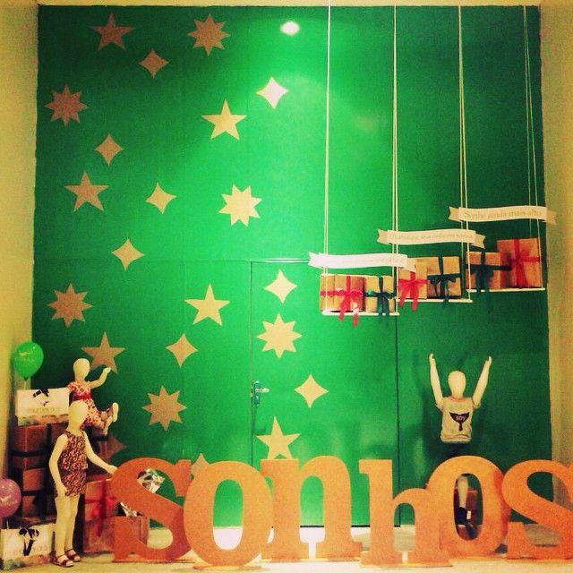 Vitrine temática - Expansão North Shopping Maracanaú 2014  sonhos  dreams   escaparates Instagram photo 2951e317c44a1