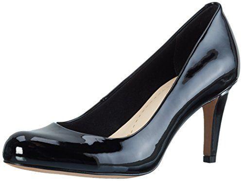 Idamarie Faye, Escarpins Femme, Noir (Black Leather), 40 EUClarks