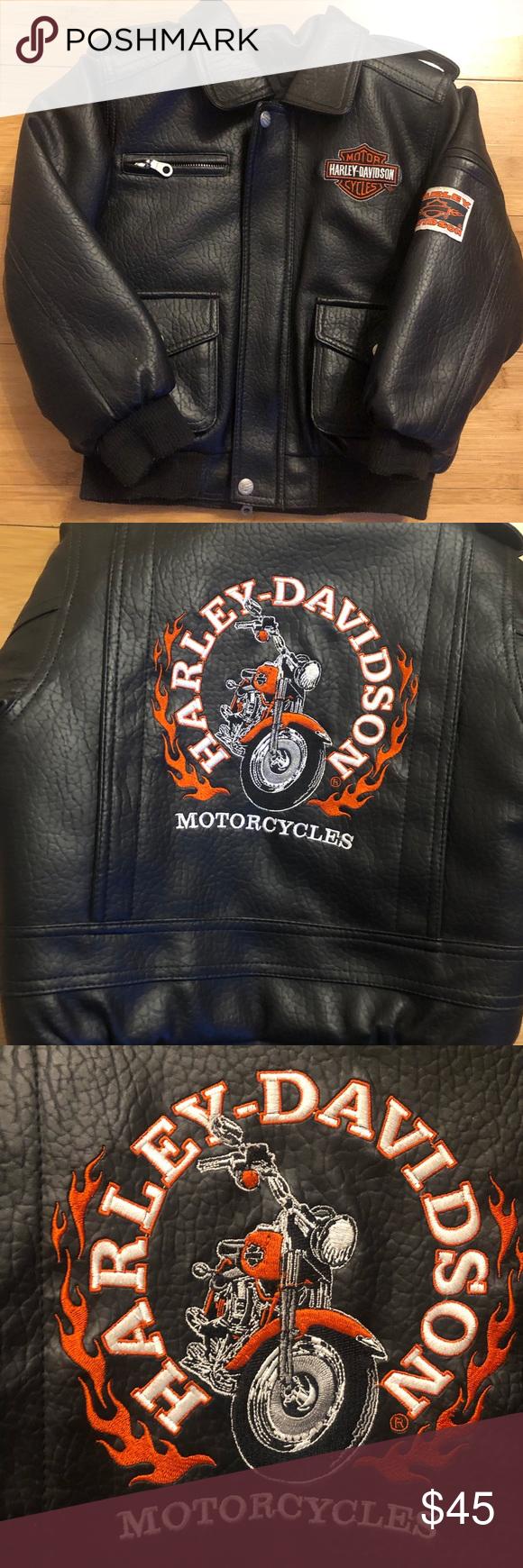 Harley Davidson Kids Leather Jacket Kids Leather Jackets Harley Davidson Kids Leather Jacket [ 1740 x 580 Pixel ]