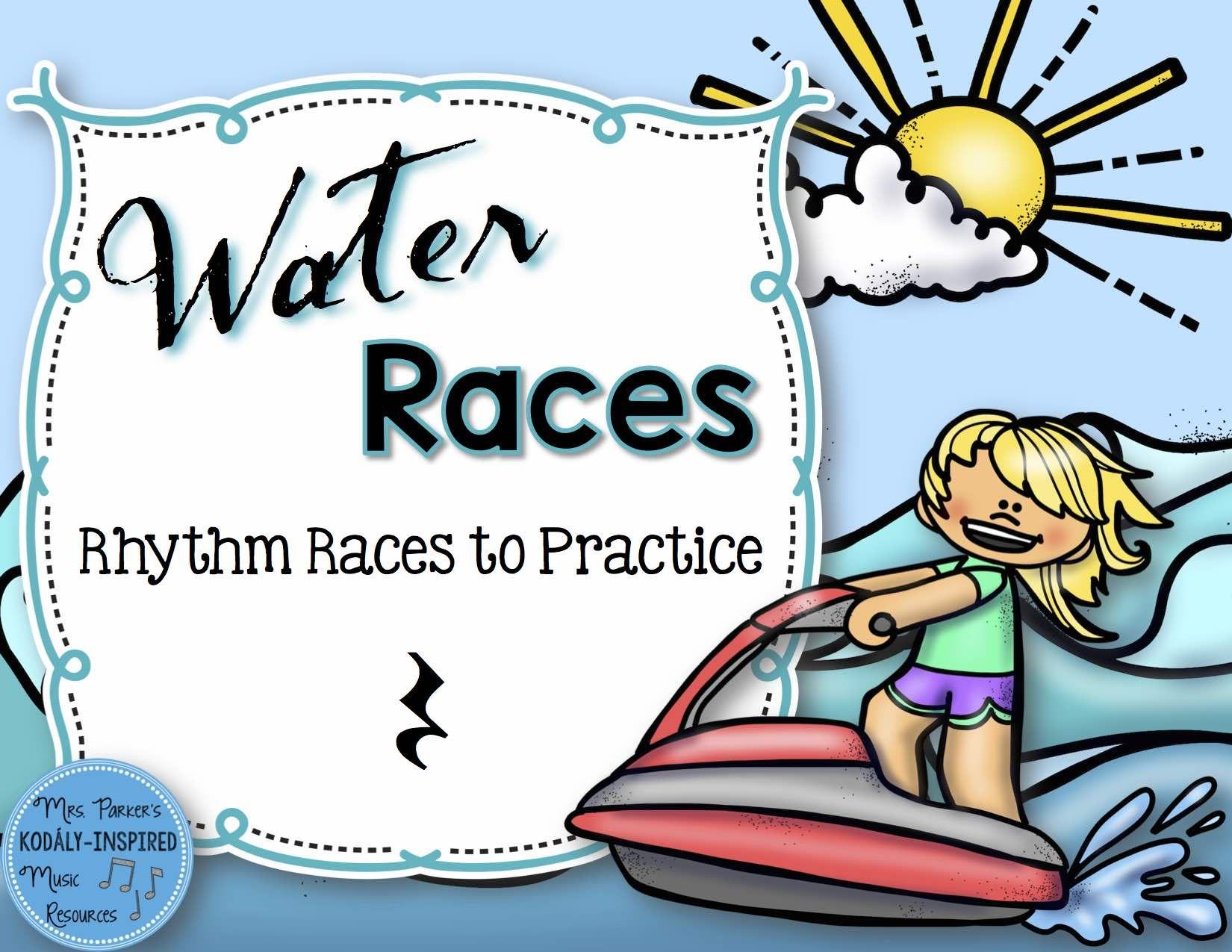 Water Rhythm Races Game Quarter Rest