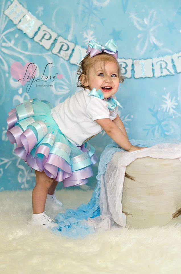 Frozen Photo Shoot Elsa Tutu Winter Wonderland 2 Year Old Pictures