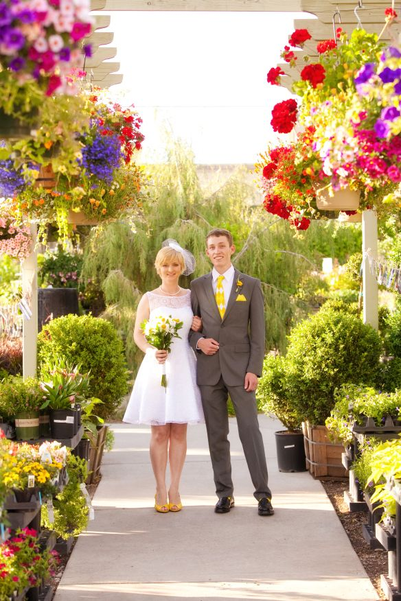 Cactus & Tropicals wedding outside