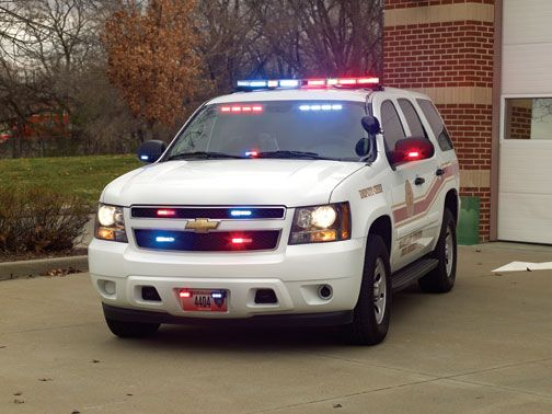 Emergency Lighting Chevy Tahoe Law Enforcement Police