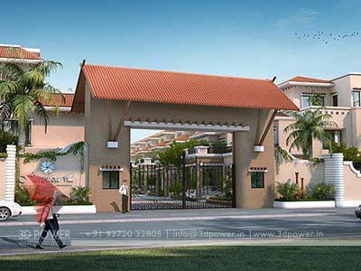 entrance-gate-designs-for-residential-complex